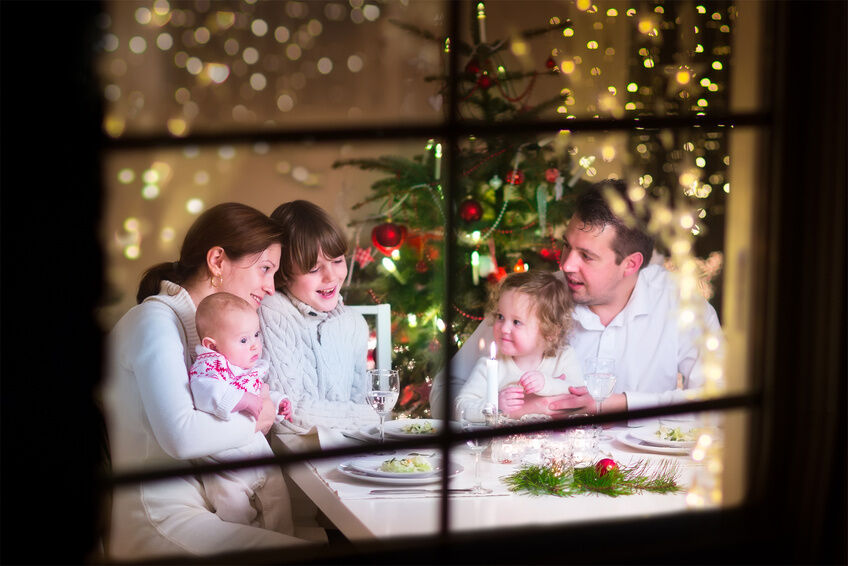 Although many see planning a holiday party often as a stressful affair