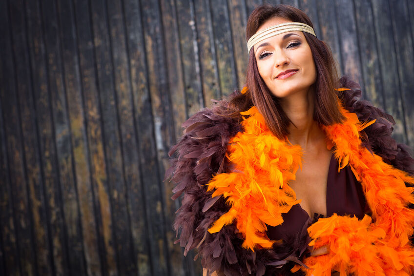 How to Style a Feather Boa for Any Outfit