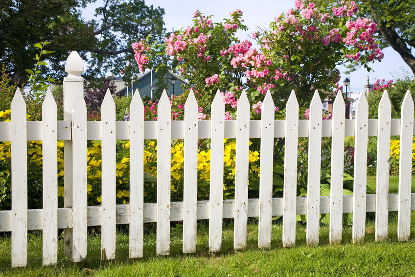 How To Build A White Picket Fence Ebay