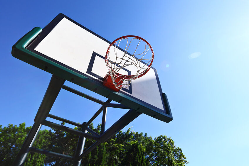 How to make a basketball net ebay for How to build basketball court