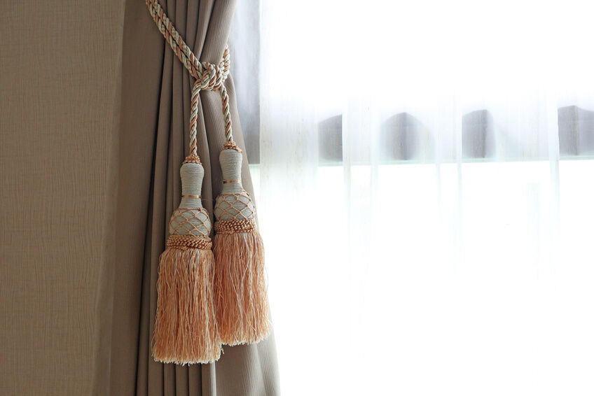how to make curtain tie backs ebay. Black Bedroom Furniture Sets. Home Design Ideas