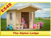 NEW Childrens Alpine Lodge Playhouse