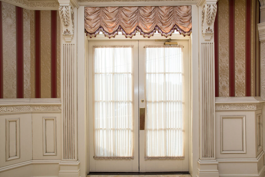 Curtains For Double French Doors Curtains for Patio Doors