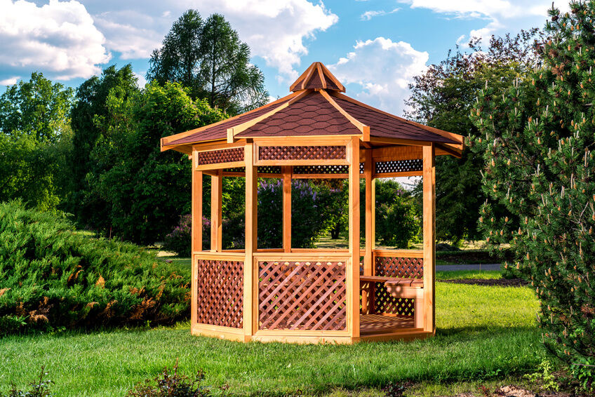 how to build a pitched roof gazebo ebay. Black Bedroom Furniture Sets. Home Design Ideas