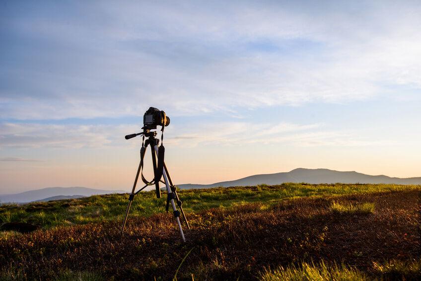 Ohne Wackler: das Stativ für die Nikon D3100