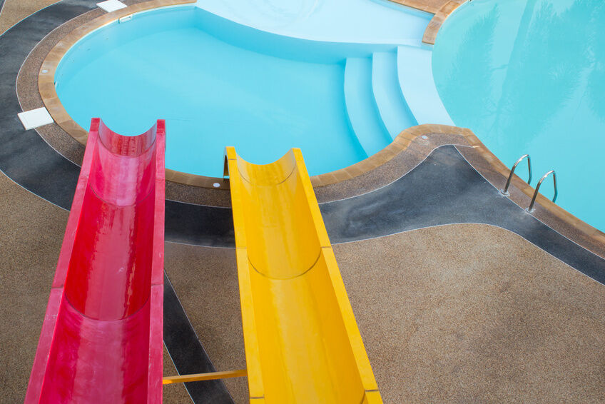 How To Build A Swimming Pool Slide Ebay