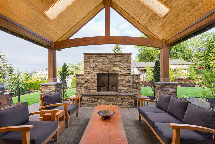 How-to-Remove-a-Fireplace-Mesh-Curtain- on Patio Cover Decorating Ideas id=89983
