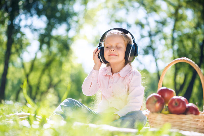 Childsafe Headphones with Ear Pads