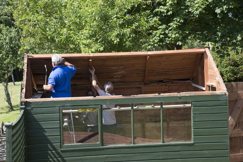 How To Build A Saltbox Shed Roof Ebay