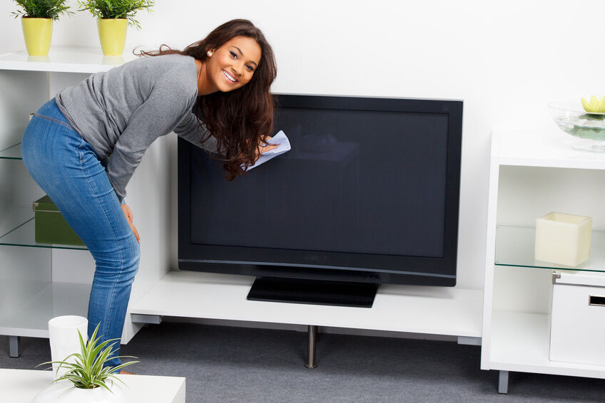 How To Clean A Flat Screen Tv Ebay