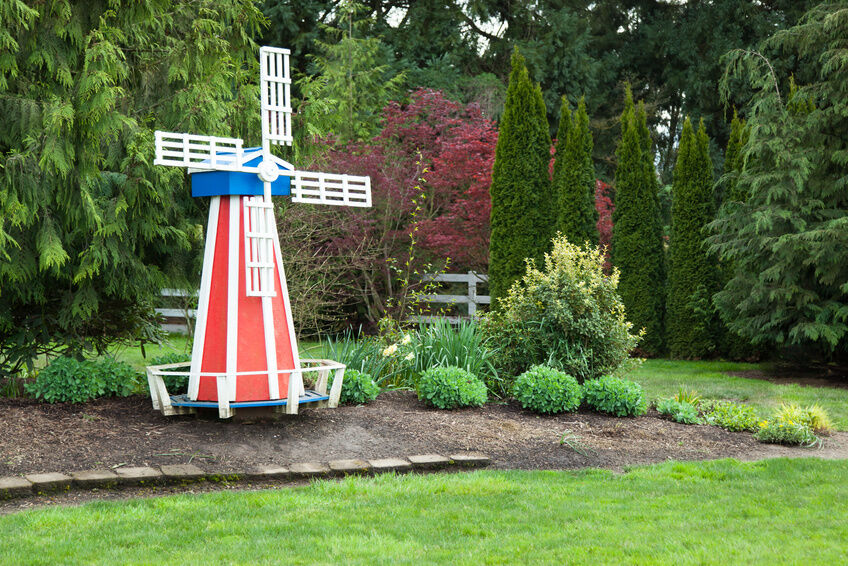 How to Build a Garden Windmill eBay