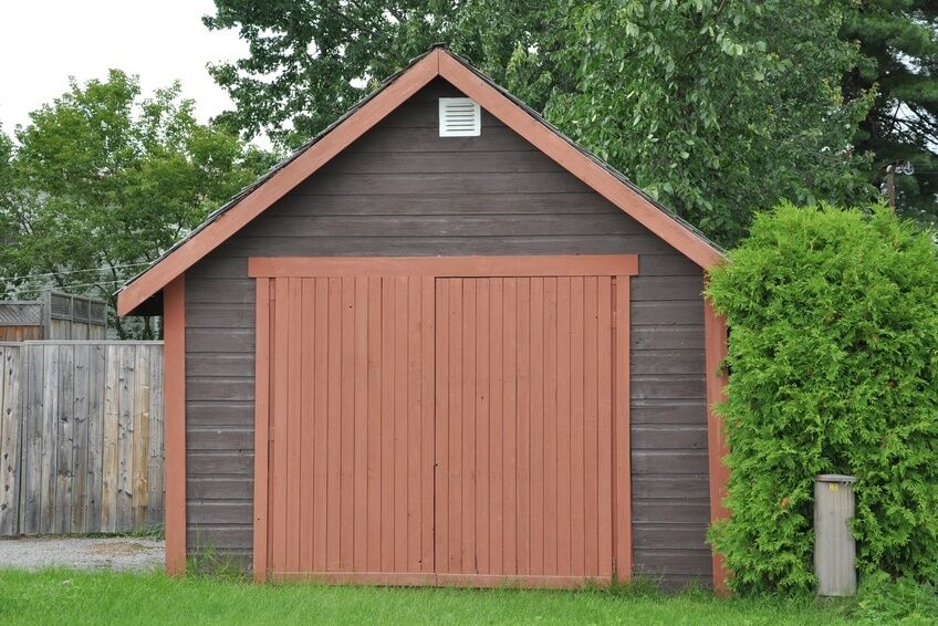 How to build an 8x8 wood shed ebay for Garden shed 8x8