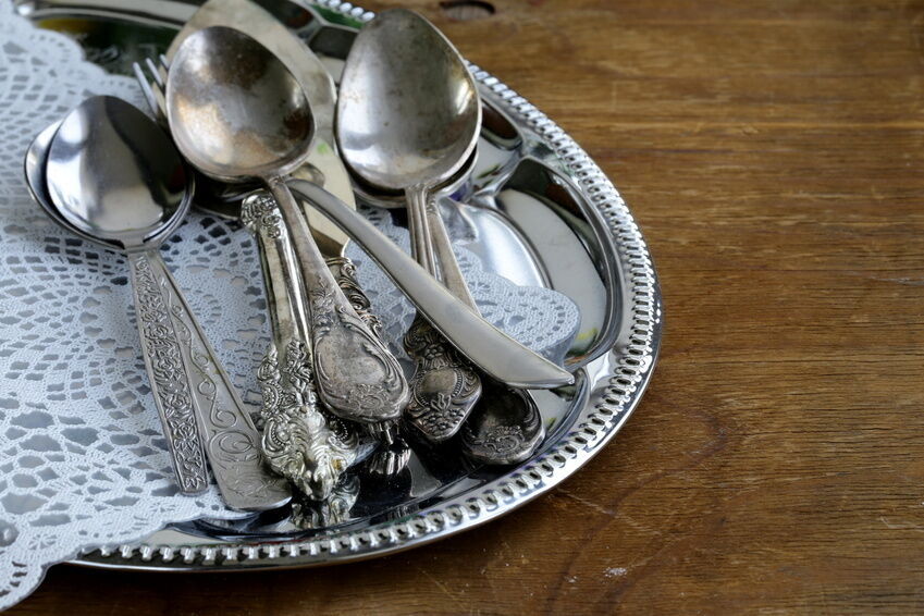 How to Care for Antique Silver