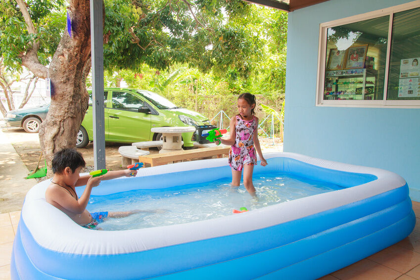 was tun mit einem quick up pool im winter ebay. Black Bedroom Furniture Sets. Home Design Ideas