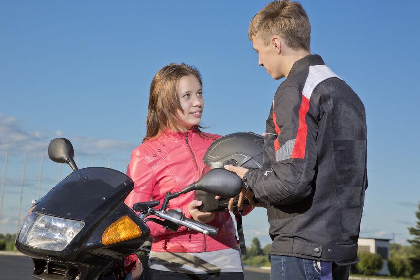 Motorradjacke mit Goretex für Fahrten bei jedem Wetter