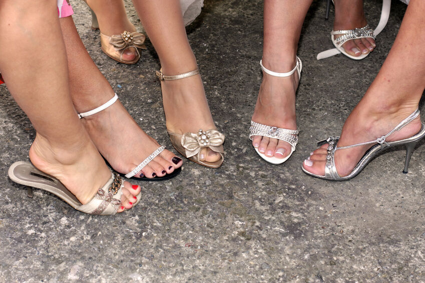 How To Choose Sandals For A Summer Wedding