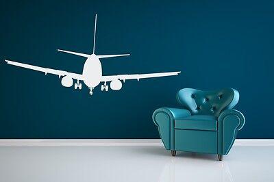 Airplane Decal, Airplane Wall Decal, Airplane Nursery, Dorm Decor, Nursery Decal