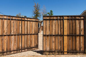 how to build a set of slat gates