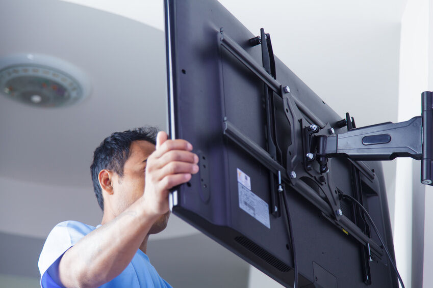 How to Install a 50-inch TV Wall Mount