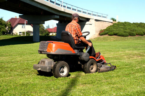 How to Use a Ride-On Mower