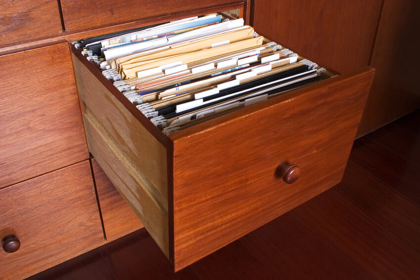 How To Organize A File Cabinet At Home