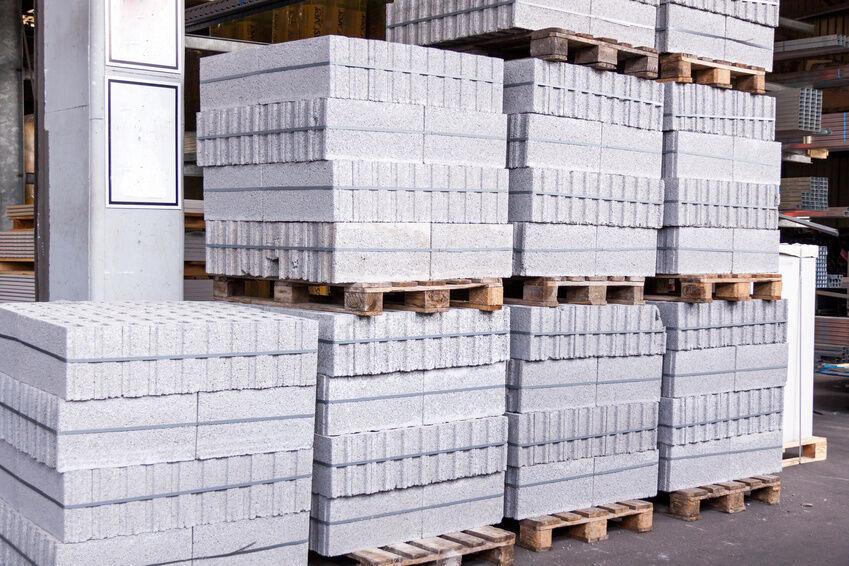 Stacked Concrete Blocks