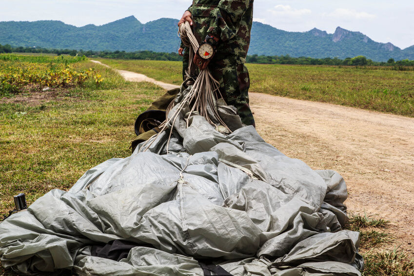 What to Look for When Buying a Military Parachute