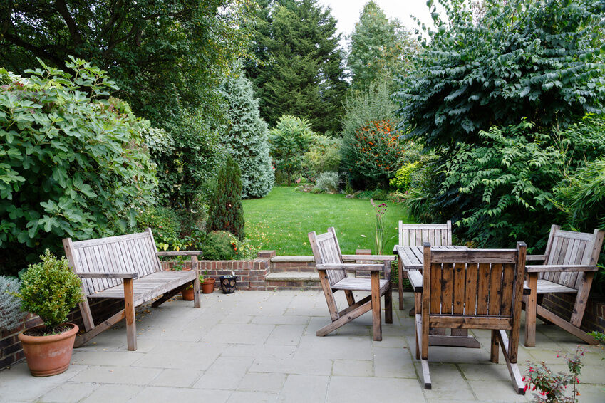 How to Make Rustic Garden Furniture
