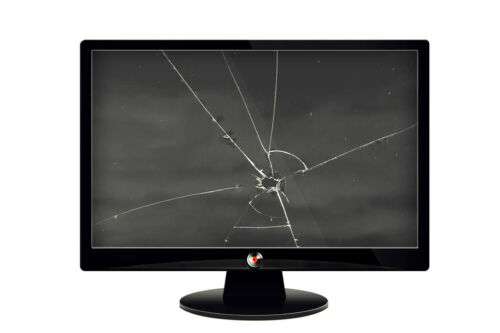 cracked tv screen cost