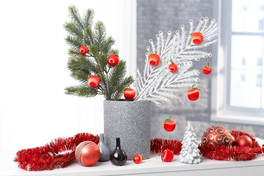 How to Decorate a Christmas Vase  eBay