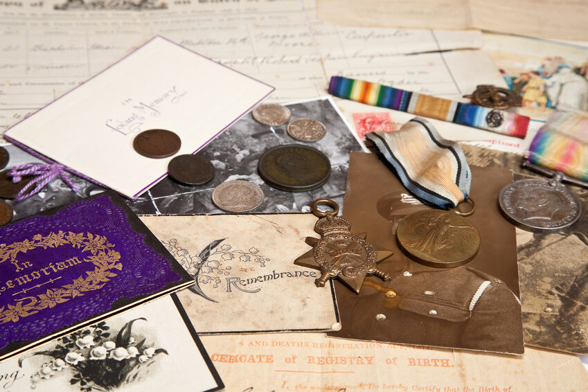 Your Guide to WW1 Memorabilia