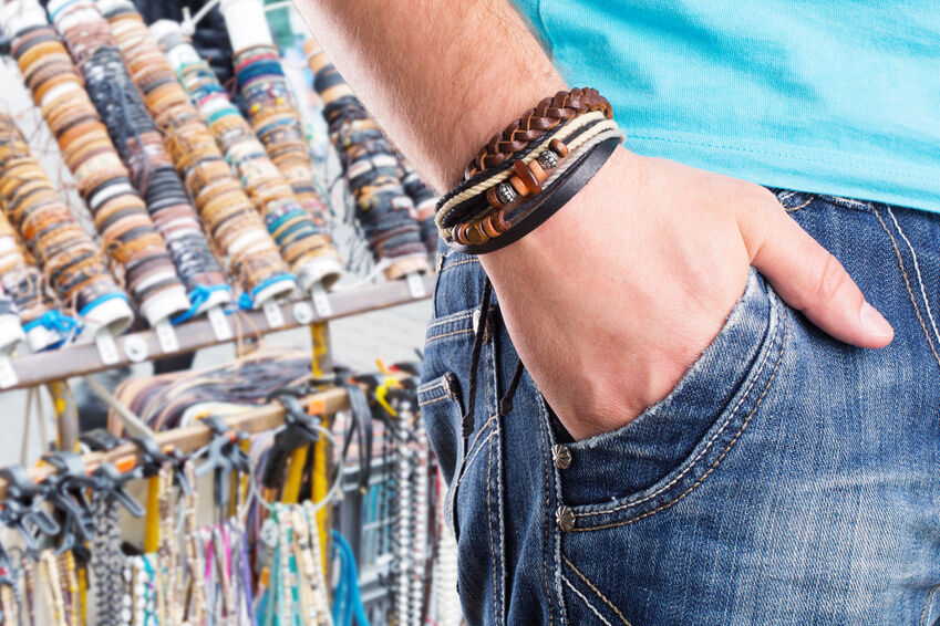 Mens' Leather Jewellery Buying Guide