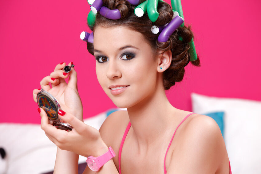 How To Curl Hair With Flexible Rods Ebay