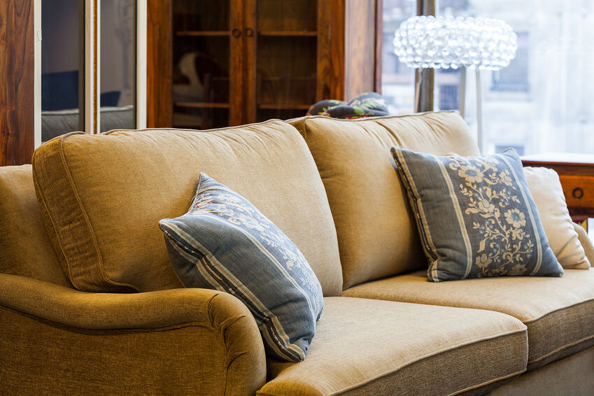How to Restore a Fabric Sofa
