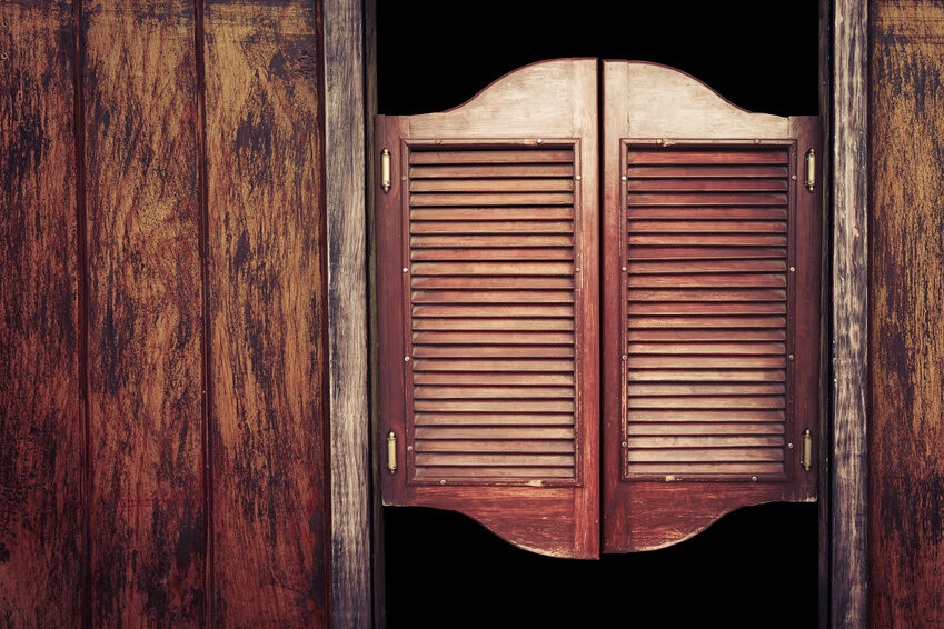 How to make swinging doors ebay for Small doors for sale