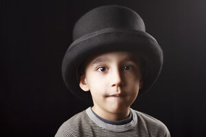 how to make a paper train conductor hat
