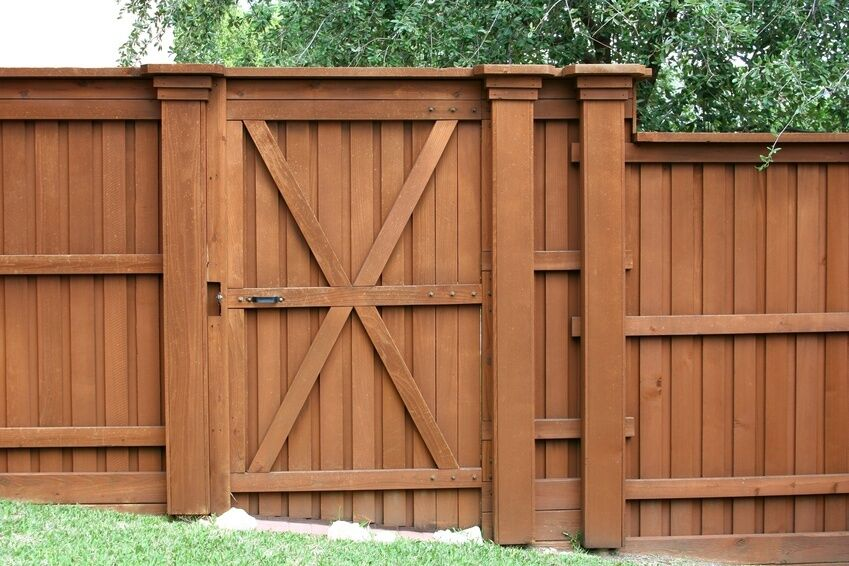 How To Build A Gate For A Privacy Fence Ebay