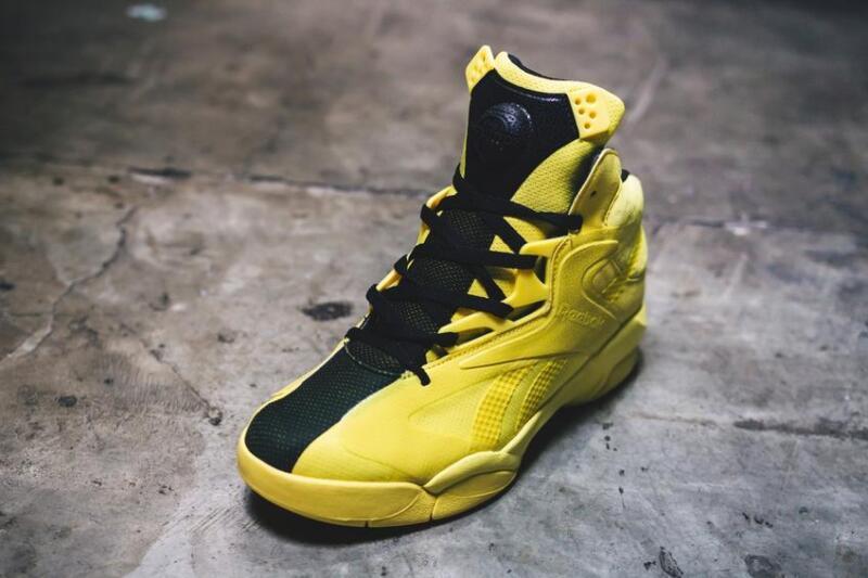 292602afb5d4 ... Reebok Men s Basketball Shoes Shaq Attaq Modern Yellow - BD4602 - Men s  Sz. 8~