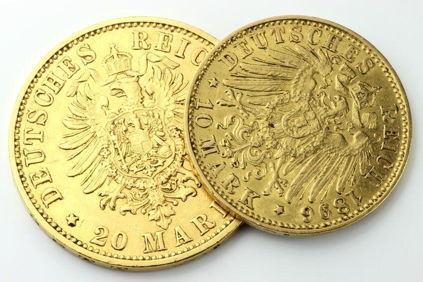 Die 5 beliebtesten Gedenkmünzen der Deutschen Mark