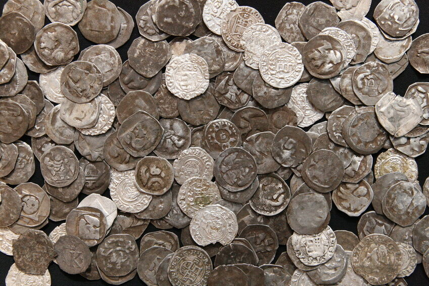 How to Care for Saxon Coins