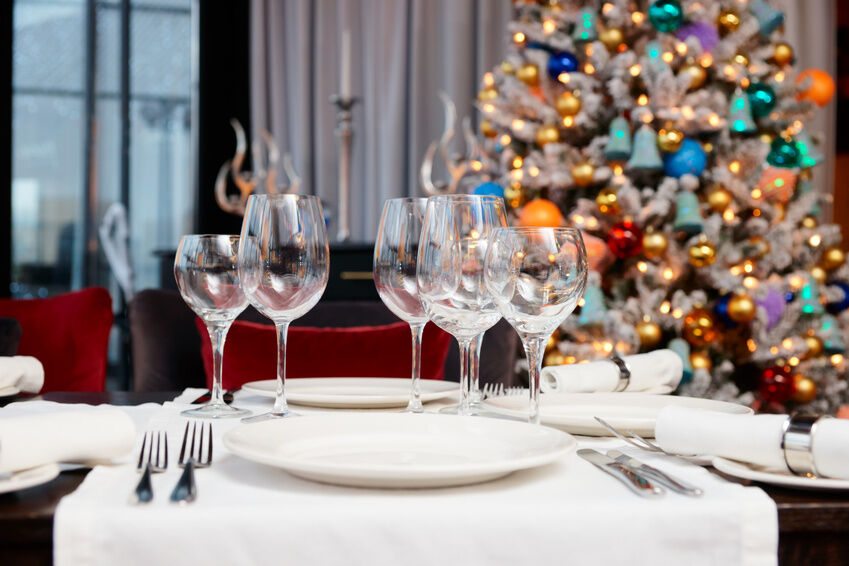 How To Set Up The Table For Christmas Dinner Ebay