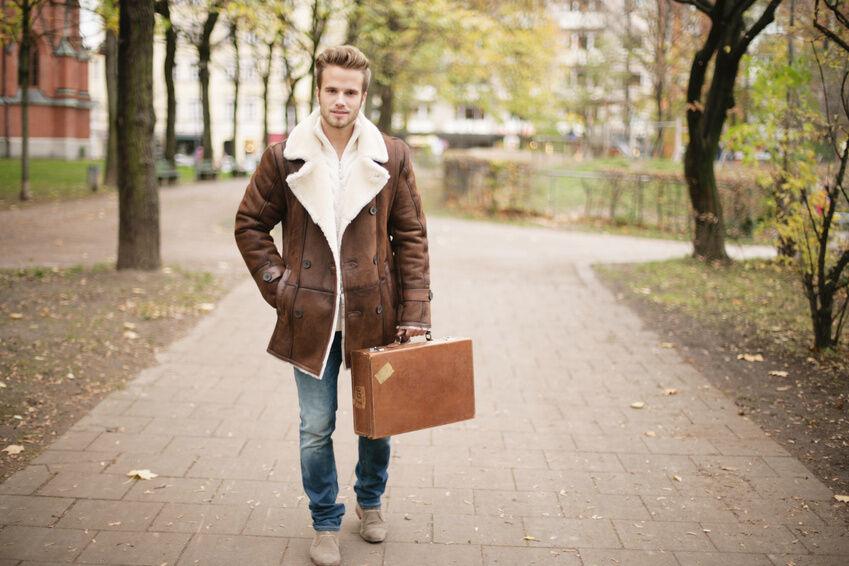 Modeklassiker: die Lammfelljacke