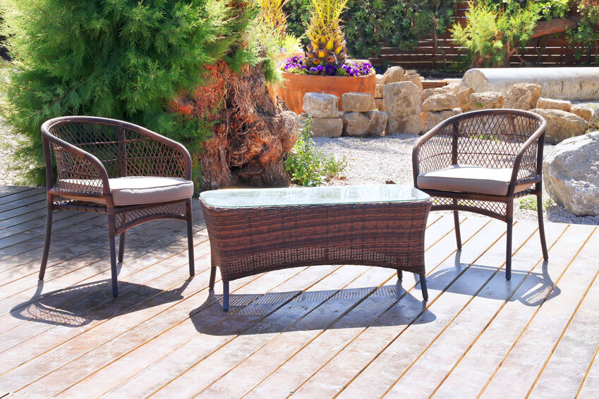 How to Care for Rattan Garden Sets