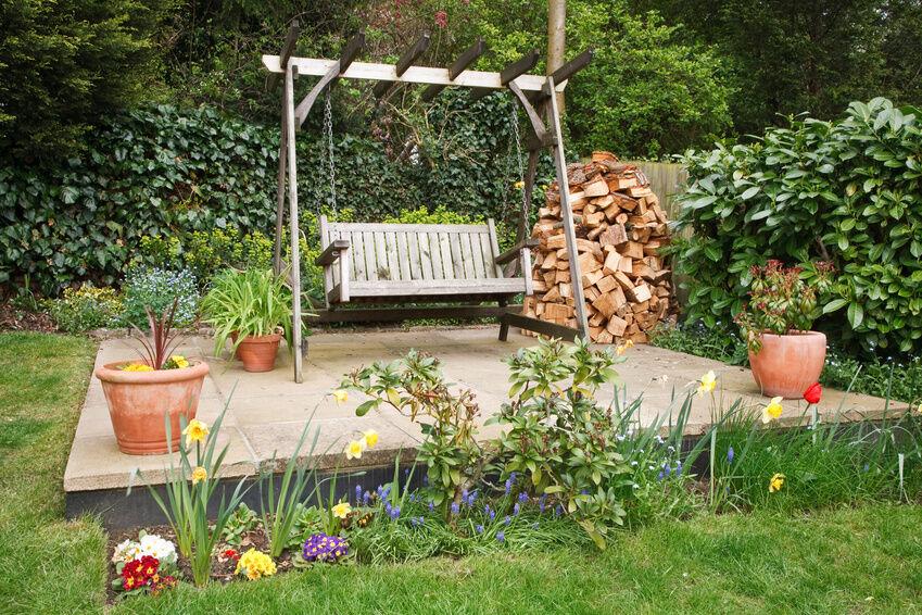 How to Build a Yard Garden Swing eBay