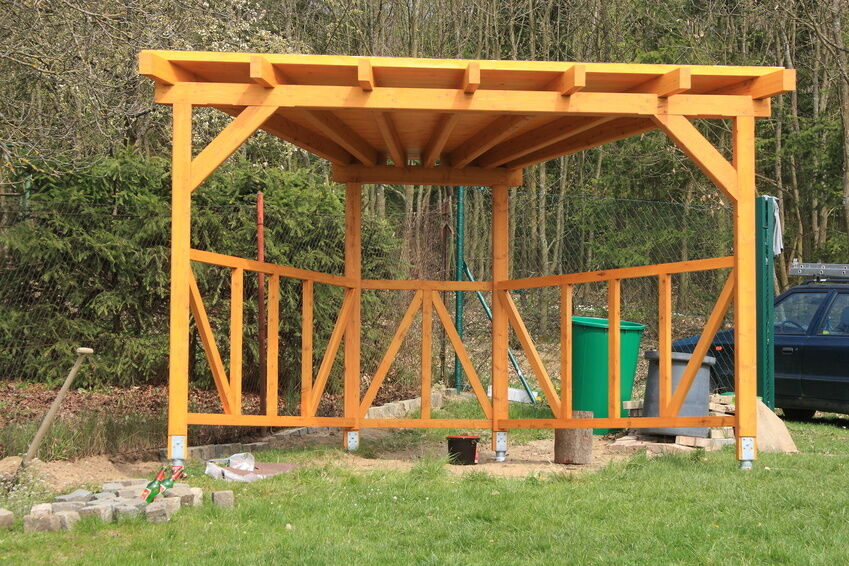 how to make a corner pergola ebay