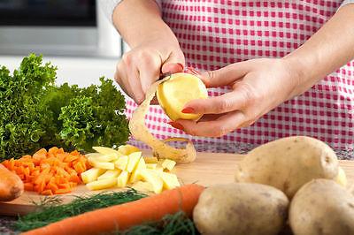 Wenn es eine Prise zuviel war - Kartoffeln mitkochen
