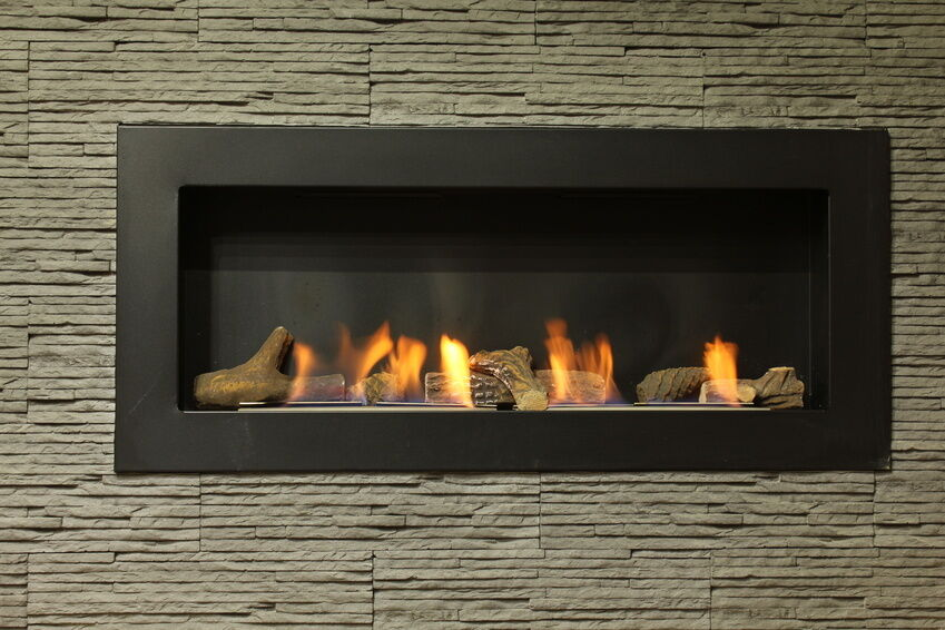 How to properly construct a ventless fireplace ebay for Ventless fireplace modern