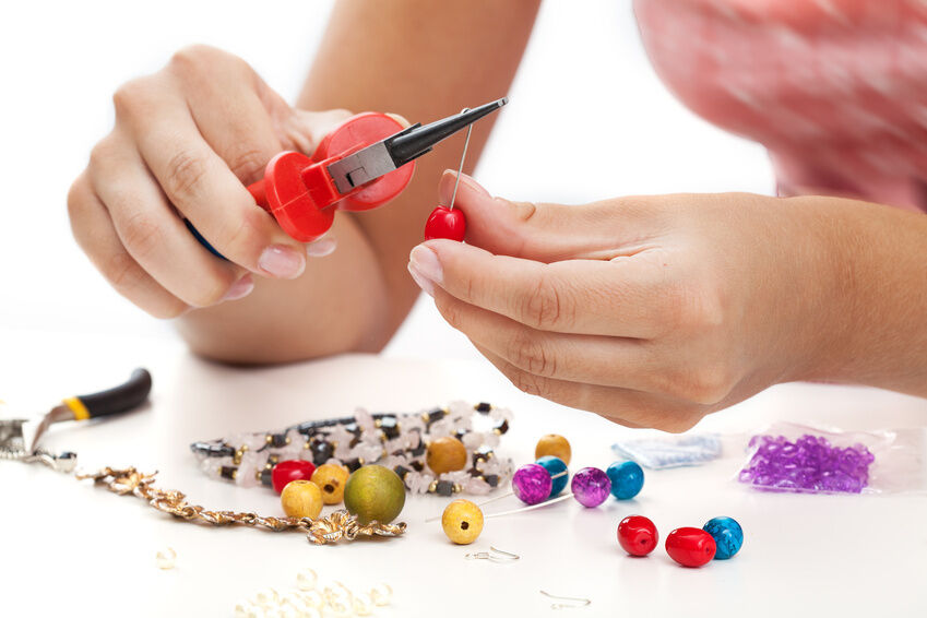 How to Use Crimps When Making Jewellery