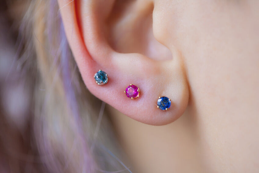 how to take out earrings how to take out a cartilage earring ebay 9617