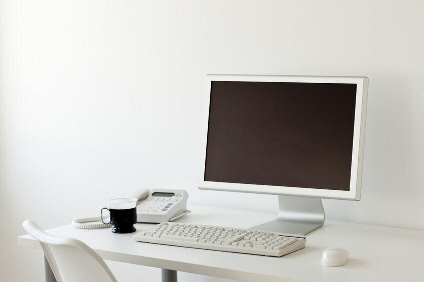 24 zoll monitor er darf auch an der wand h ngen ebay. Black Bedroom Furniture Sets. Home Design Ideas